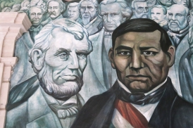 Lincoln and Hidalgo, both wanted freedom
