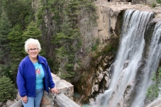 Carol waterfall Creel