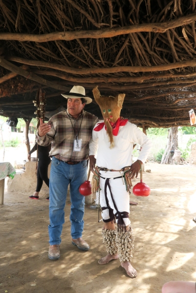 Chal our guide and hotel owner El Fuerte
